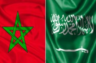 Saudi-Moroccan flags