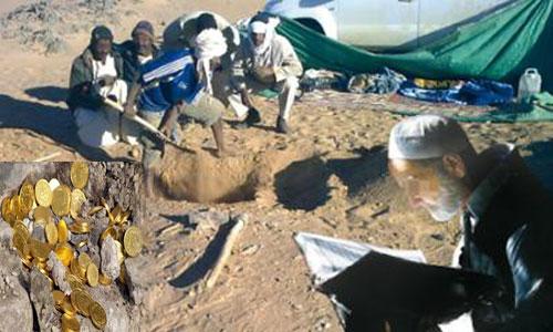 وزارة الثقافة تحذر الباحثين عن الكنوز تحت الأرض